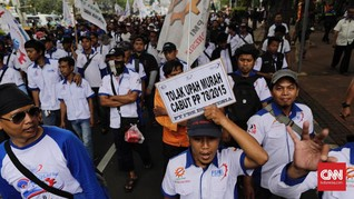 Buruh Tawar Kenaikan Upah Minimum Tahun Depan 1,5-2 Persen