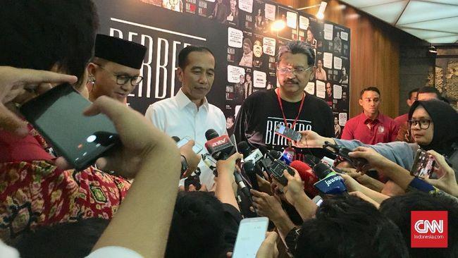 Alumni SMU Pangudi Luhur yang tergabung dalam PL Bersatu mendeklarasikan dukungan bagi pasangan capres nomor urut 01 Joko Widodo-Ma'ruf Amin.