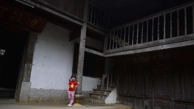 Sebuah istana di daerah Ha Giang, Vietnam adalah bukti sejarah dari etnis Hmong, yang kini menjadi minoritas di sana.