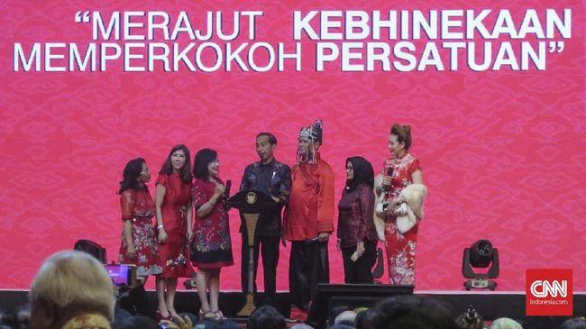 Presiden Jokowi mengucapkan selamat Tahun Baru Imlek 2570 kepada masyarakat Indonesia Tionghoa yang merayakan.