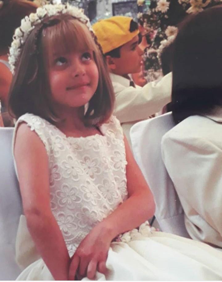 Masih ingat telenovela Carita de Angel, Bun? Daniela adalah bocah imut yang memerankan Dulce Maria dan kini tumbuh jadi remaja yang cantik.