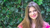 <p>Daniela Aedo Santana, lahir di Meksiko, 12 Februari 1995. Mendekati usia 24 tahun, Daniela makin cantik ya, Bun. (Foto: Instagram/danaedo)</p>