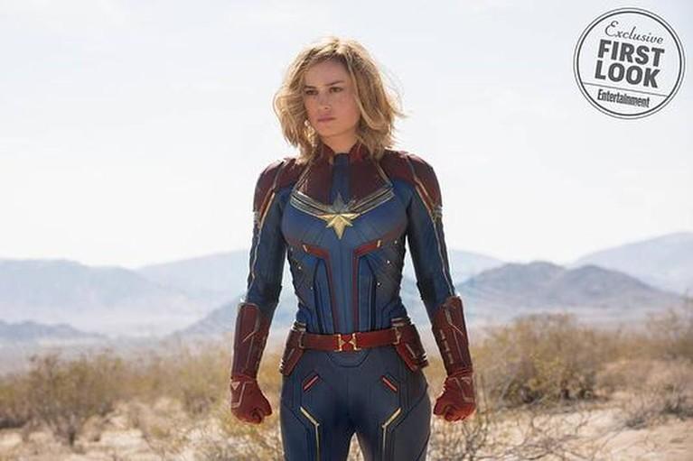Penampilan pertama Brie Larson sebagaiCaptain Marvel, siapa yang nggak sabar menunggu aktingnya nih?