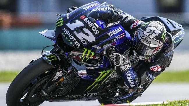 Berikut foto-foto terbaik aksi para pebalap pada hari kedua tes pramusim MotoGP 2019 di Sirkuit Internasional Sepang yang didominasi Maverick Vinales.
