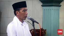 Jokowi Cek Kesiapan Masjid Istana Gelar Salat saat New Normal