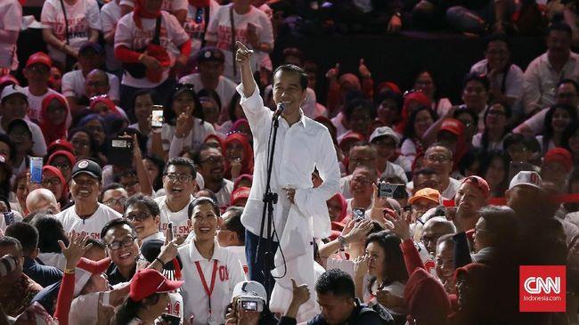 Presiden Jokowi disebut memberikan kiat khusus kepada para saksi untuk pasangan Jokowi-Ma'ruf. Pembekalan itu dilakukan tertutup dari liputan media.