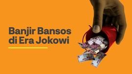 INFOGRAFIS: Banjir Bansos Era Jokowi