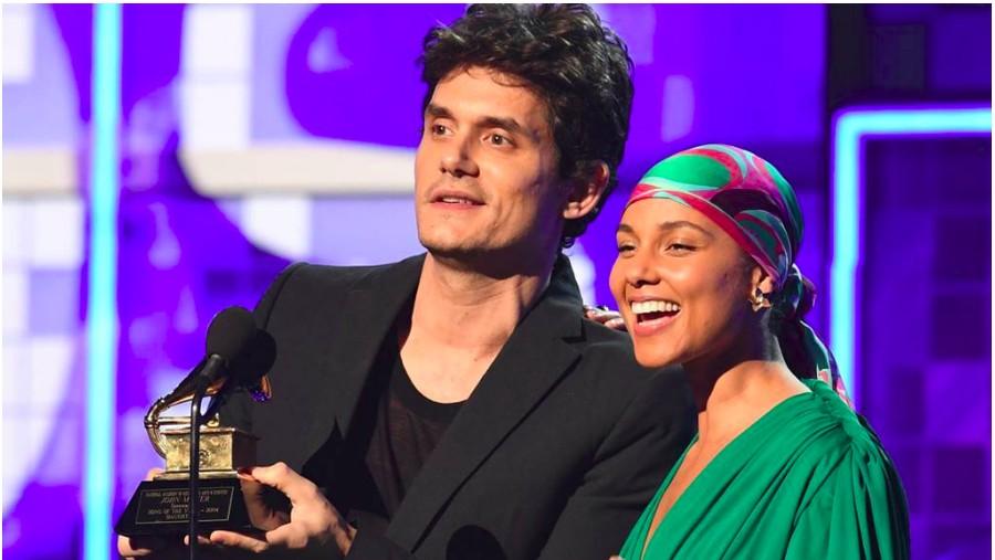 Ketika John Mayer dan Alicia Keys Kenang Grammy 2004
