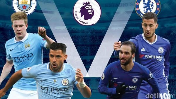 Man City Gunduli Chelsea 6-0