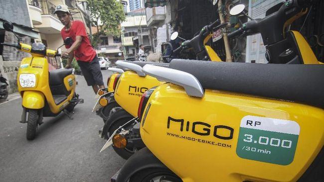Migo tidak menjalin kerja sama dengan pihak tertentu terutama dalam penyediaan unit sepeda listrik. Migo membuat produk sepeda listrik untuk kebutuhan sewa.