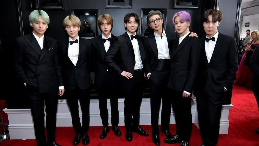 Pertama Kali Tampil di Grammy Awards, BTS: Thank's To ARMY
