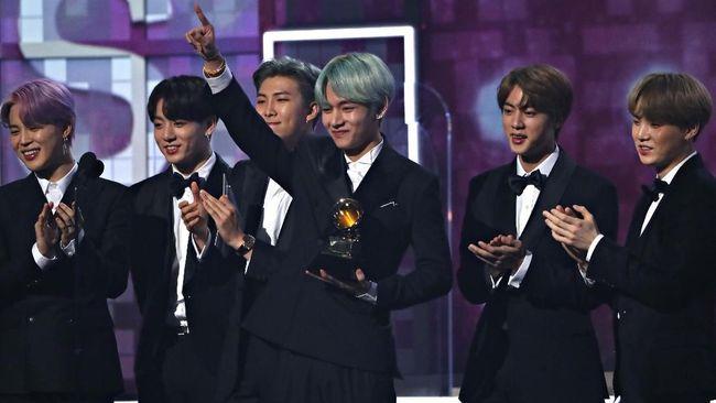 BTS, Lay 'EXO' dan Mimpi Grammy Awards yang Terwujud