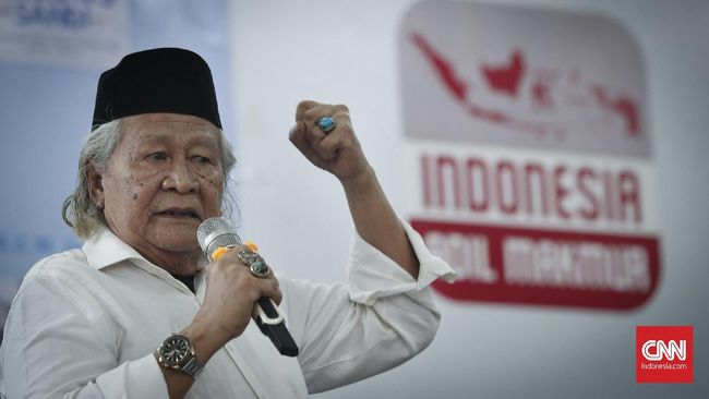 Sebut Kerajaan Sriwijaya Fiktif, Ridwan Saidi Akan Dilaporkan