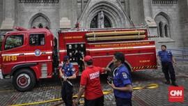 DKI Beli Robot Pemadam Kebakaran dari Kroasia Rp37,4 Miliar
