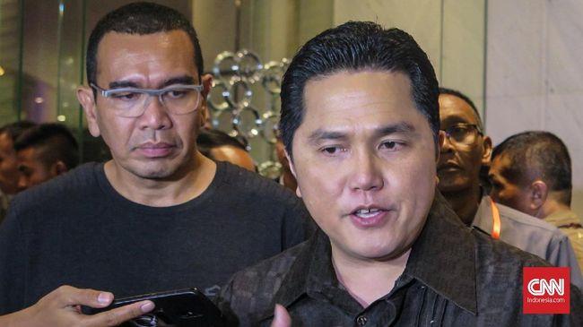 Menteri BUMN Erick Thohir ingin bahan baku obat yang selama ini 90 persennya masih impor bisa segera diproduksi di dalam negeri.