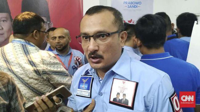 Meski Presiden hanya sebut tunjuk jari soal persetujuan warga tentang kelanjutan MRT, BPN Prabowo-Sandi menyebut itu akal bulus dan melanggar UU Pemilu.