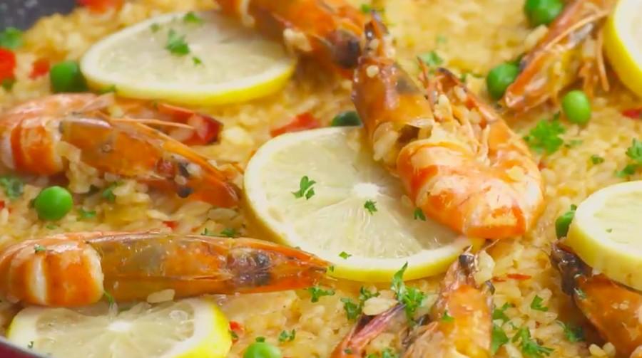 Resep Paella Udang, Perpaduan Asam Pedas untuk Sajian Makan Siang