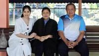 <p>Bersama Annisa Yudhoyono, menantu pertama. Lewat akun media sosial, Annisa juga membagikan penggalan doa untuk mertuanya. (Foto: Facebook/ AniYudhoyono.official)</p>