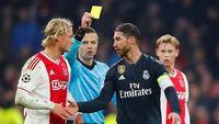 Apakah Sergio Ramos Sengaja Dapat Kartu Kuning?