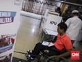 FOTO: Simulasi Pemilu Untuk Penyandang Difabel