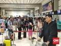 Penumpang Pesawat di Bandara AP I Naik Hampir 3 Kali Lipat