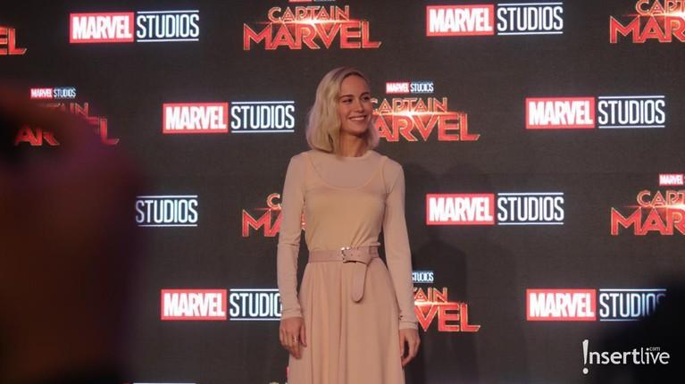 Captain Marvelakan menjadi film superhero pertama Brie Larson. Sebelumnya, Larson lebih banyak bermain dalam film drama atau komedi.