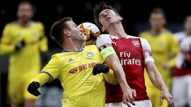 Kalahkan BATE 3-0, Arsenal Melaju ke Babak 16 Besar