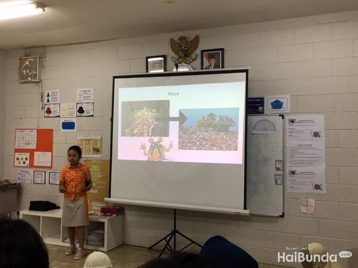 <p>Setiap anak yang memiliki proyek tunggal akan melakukan presentasi di kelas. Hal itu untuk mengulas lebih dalam tentang proyek yang mereka kerjakan.</p>