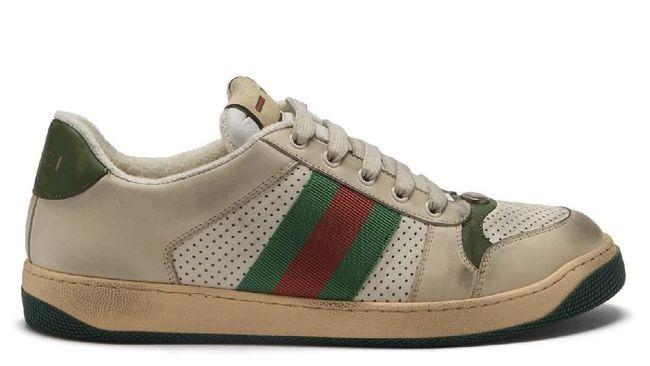 Sneaker teranyar Gucci dirilis dalam bentuk virtual dengan mengadopsi teknologi augmented reality (AR) dan NFT.