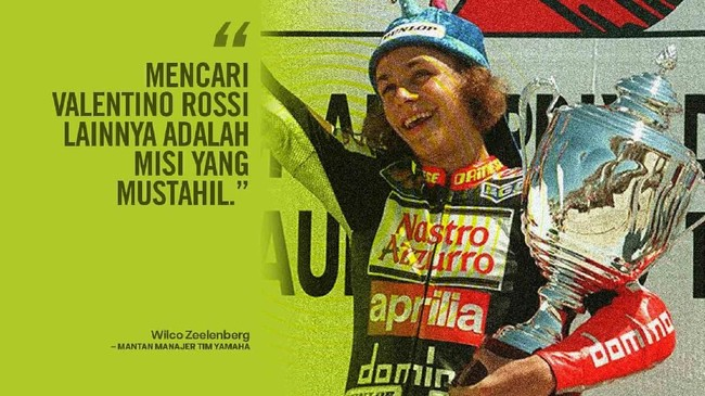 Foto Kata Legenda Tentang Kehebatan Valentino Rossi