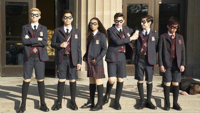 Layanan streaming Netflix memperkenalkan enam karakter baru yang akan muncul di musim ketiga serial The Umbrella Academy.