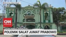 Masjid Kauman Ijinkan Prabowo Sholat Jumat Tanpa Atribut