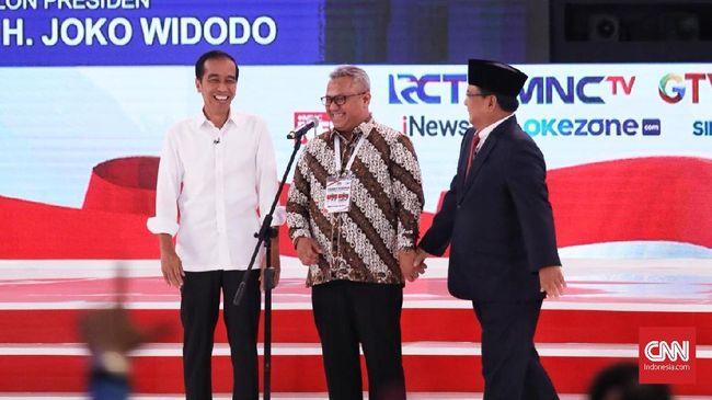 Calon Presiden Prabowo Subianto menyebut pembangunan infrastruktur yang dilakukan pada masa pemerintahan Jokowi telah menghasilkan banyak  utang.