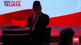 Tanpa didampingi cawapres, Joko Widodo dan Prabowo Subianto saling beradu argumen di debat capres kedua di Pilpres 2019.
