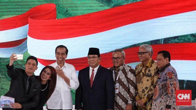 Twitter mencatat 1,5 juta cuitan mewarnai debat capres kedua capres 2019 pada Minggu (17/2) di Hotel Sultan, Jakarta Selatan.