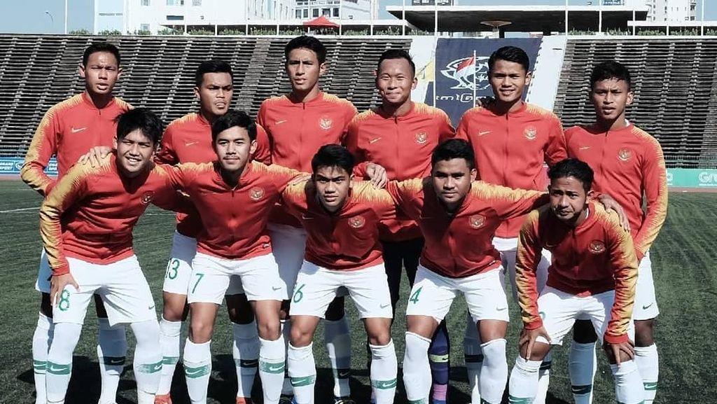Hasil Piala AFF U-22: Myanmar Vs Indonesia Imbang 1-1