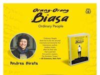 Terungkap! Ini Judul Karya Ke-11 Andrea Hirata 'orang-orang Biasa'