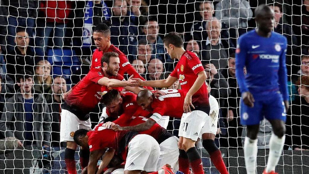 Drawing Perempatfinal Piala FA: Swansea vs City, Wolves vs MU