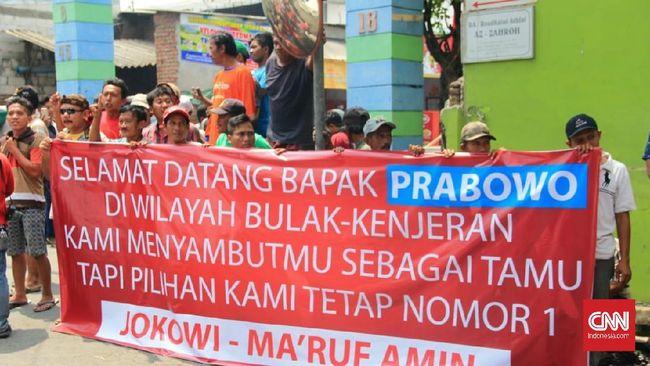 Ketua Tim Kampanye Daerah (TKD) Jatim Jokowi-Ma'ruf, Irjen Pol (Purn) Machfud Arifin aksi itu bukan pengadangan melainkan penyambutan meski bernuansa sindiran.