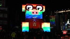 VIDEO: Lentera Babi Digital Meriahkan Festival di Taiwan