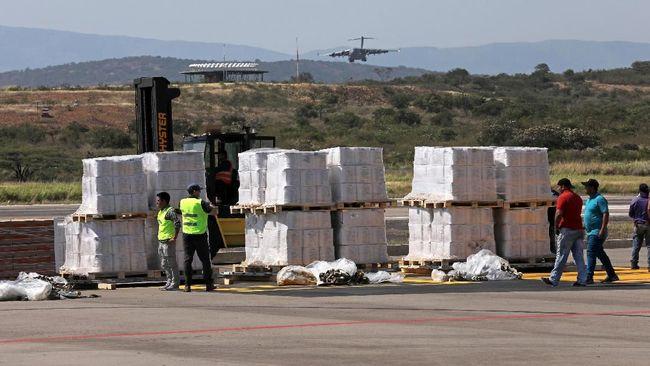 Brasil bekerja sama dengan Amerika Serikat untuk memobilisasi bantuan kemanusiaan bagi Venezuela yang tengah dilanda krisis.