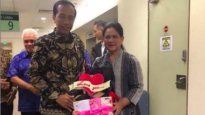 Pesan dan Doa Mengharukan Iriana Jokowi untuk Shakira