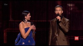 VIDEO: Riang Little Mix dan Dua Lipa Menang Brit Awards 2019