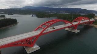 Gagahnya Jembatan Youtefa yang Mejeng di Uang Rp75 Ribu