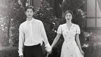<p>Song Song Couple tampak serasi sekali ya... (Foto: Instagram @kyo1122)</p>