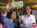 Jokowi Gegerkan Pengunjung Beceng Mal
