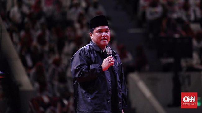 Menteri BUMN Erick Thohir menyatakan telah menyiapkan tiga nama calon dirut PLN.