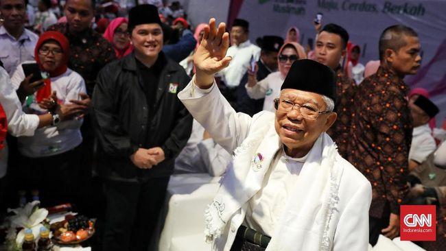 Forum Ulama dan Jawara Betawi mengklaim cawapres Ma'ruf Amin selain sebagai ulama juga adalah jawara Banteng karena menguasai silat sewaktu muda.