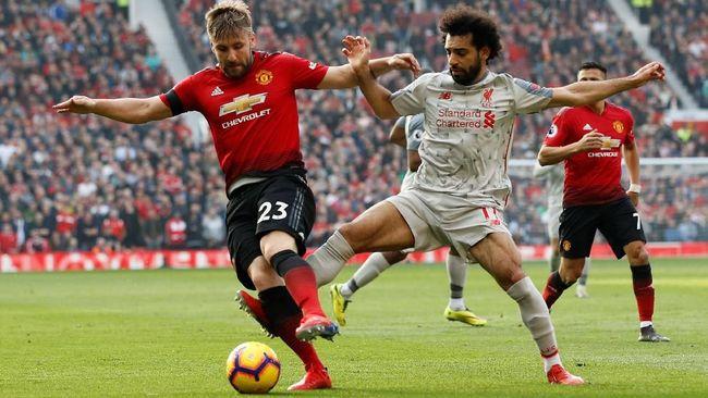 Bigmatch antara Manchester United vs Liverpool harus puas berakhir imbang tanpa gol pada lanjutan Liga Inggris yang dimainkan di Old Trafford, Minggu (24/2).