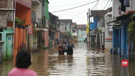 VIDEO: Banjir di 3 Kecamatan Bandung Tak Kunjung Surut